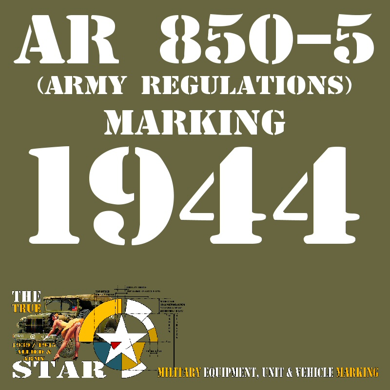 AR 850-5 version 1944