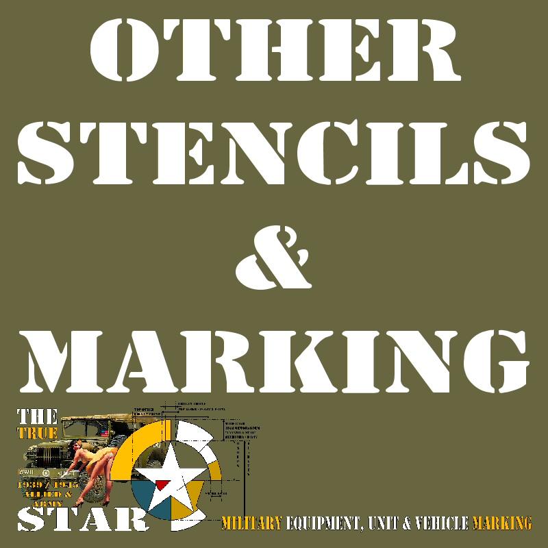 Other stencils marking