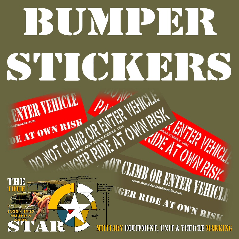 Bumper stickers 18