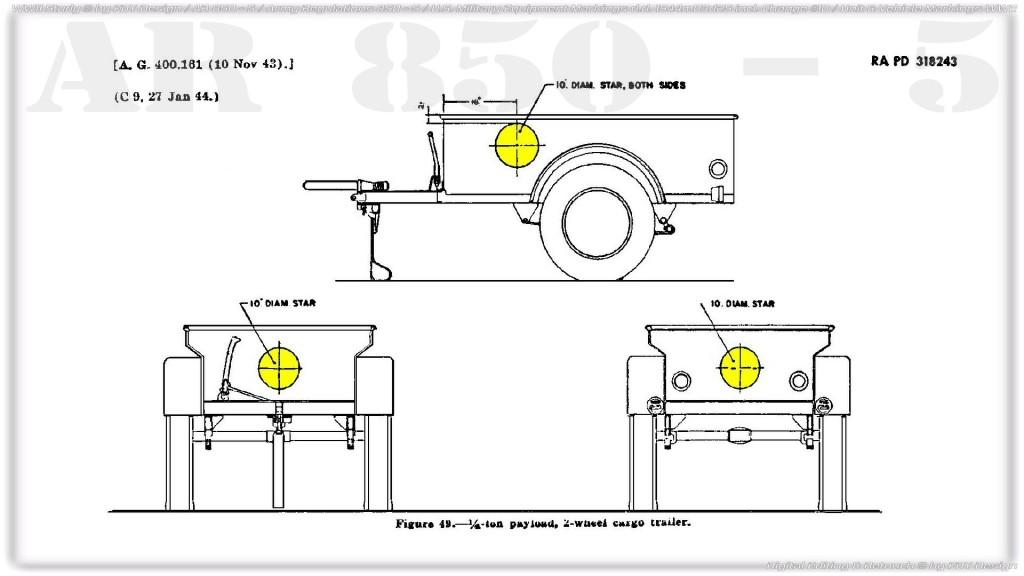 AR 850-5 Trailer 1/4 ton