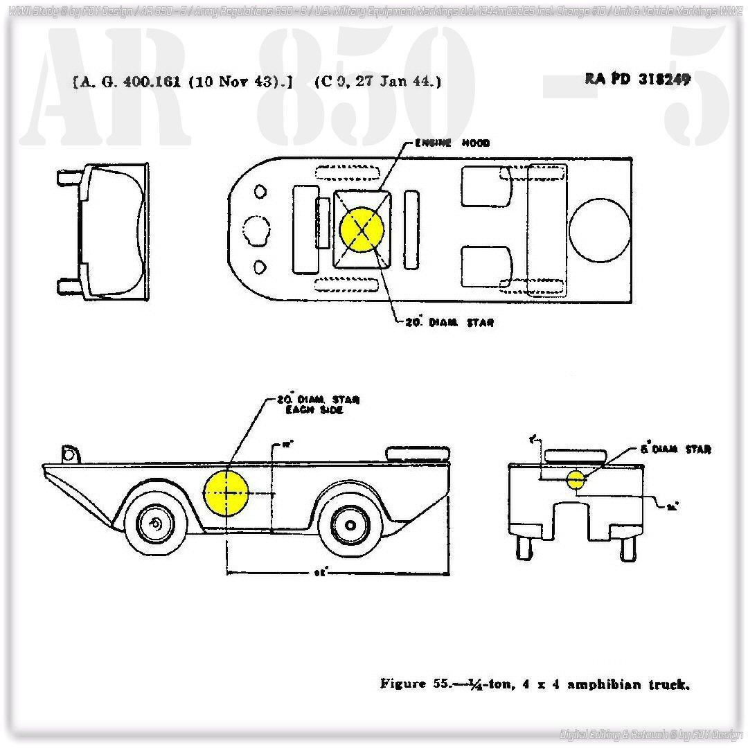 AR 850-5 Ford GPA Amphibian Truck