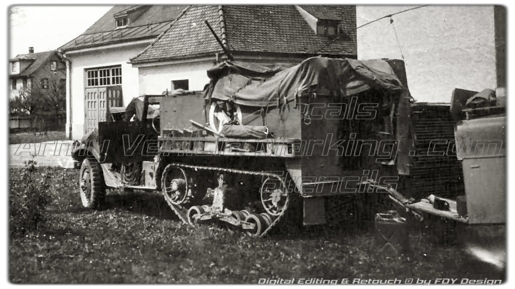 AVM by FDY Design Halftrack Marking 010
