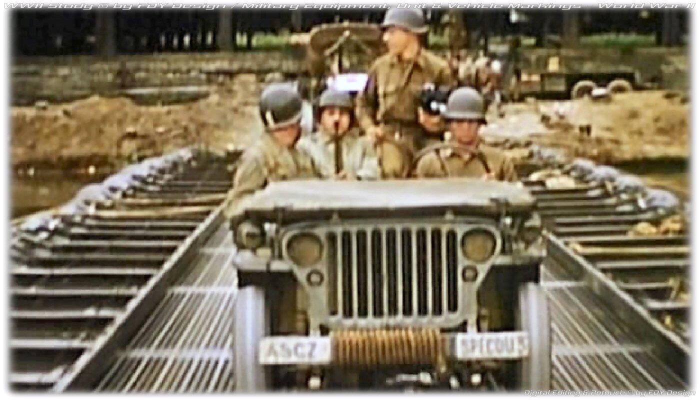 Willys Jeep Beschriftung Wunschtext US Army WW2 Farbanstrich Folienaufkleber